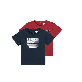 Abbigliamento Bambino T-shirt maniche corte Emporio Armani 6HHD22-4J09Z-0353 Multicolore