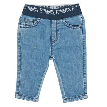 Abbigliamento Bambino Jeans slim Emporio Armani 6HHJ07-4D29Z-0942 Blu