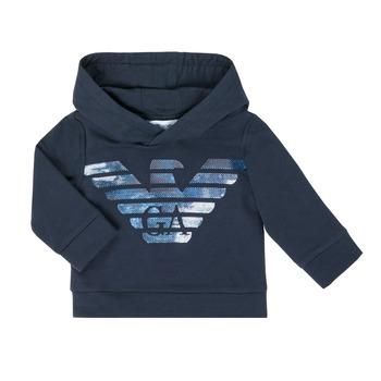 Abbigliamento Bambino Felpe Emporio Armani 6HHMA9-4JCNZ-0922 Marine