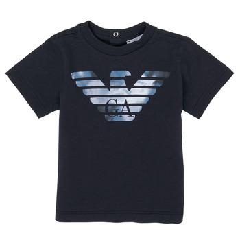 Abbigliamento Bambino T-shirt maniche corte Emporio Armani 6HHTA9-1JDXZ-0920 Marine