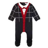 Abbigliamento Bambino Pigiami / camicie da notte Emporio Armani 6HHD12-4J3WZ-F912 Marine