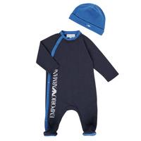 Abbigliamento Bambino Pigiami / camicie da notte Emporio Armani 6HHV12-4J3CZ-0922 Marine
