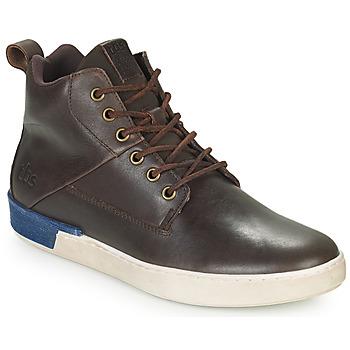 Scarpe Uomo Sneakers alte TBS SANDJAY Marrone