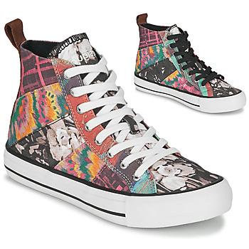 Scarpe Donna Sneakers alte Desigual BETA_HERITAGE Multicolore