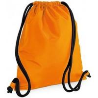 Borse Unisex bambino Borse da sport Bagbase BG110 Arancione/Nero