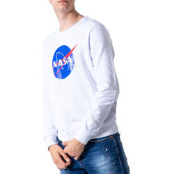 Abbigliamento Uomo Felpe Nasa NS07U Bianco