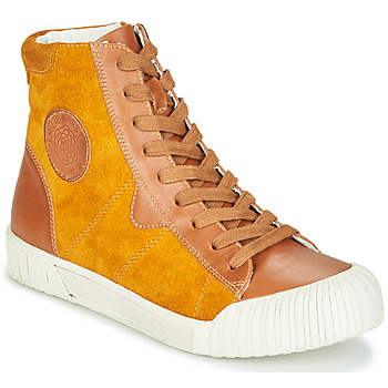 Scarpe Donna Sneakers alte Karston OMSTAR Ocre