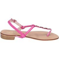 Scarpe Donna Sandali Solo Soprani sandali pelle sintetica rosa
