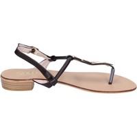 Scarpe Donna Sandali Solo Soprani sandali pelle sintetica marrone