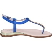 Scarpe Donna Sandali Solo Soprani sandali pelle sintetica blu