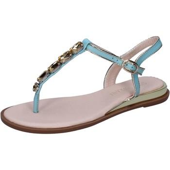 Scarpe Donna Sandali Solo Soprani sandali pelle sintetica celeste