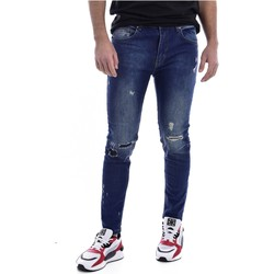 Abbigliamento Uomo Jeans skynny Goldenim Paris slim / skinny 1312 blu