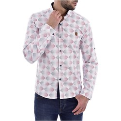 Abbigliamento Uomo Camicie maniche lunghe Goldenim Paris maniche lunghe 1043 bianco