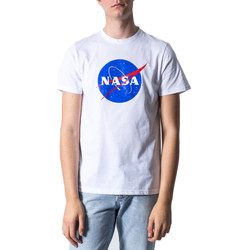 Abbigliamento Uomo T-shirt maniche corte Nasa NS01U Bianco