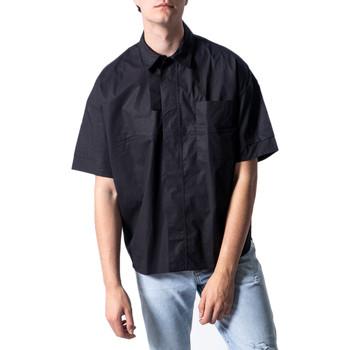 Abbigliamento Uomo Camicie maniche corte Antony Morato MMSS00162-FA450009 Nero