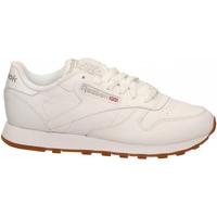 Scarpe Donna Fitness / Training Reebok Sport CL LTHR white-gum