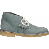 Scarpe Uomo Stivaletti Clarks DESERTBOOT M blue-grey