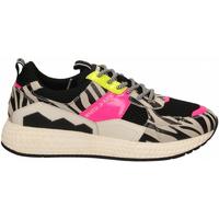 Scarpe Donna Sneakers basse Moa Concept FUTURA BLACK MESH zebra