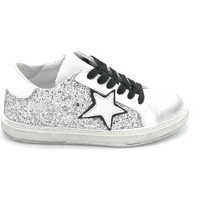 Scarpe Donna Sneakers In My Shoes IN101 Bianco-argento