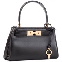 Borse Donna Borse a spalla Tory Burch LEE SMALL IN PELLE Black
