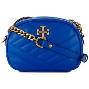 Borse Donna Tracolle Tory Burch KIRA IN PELLE Blue