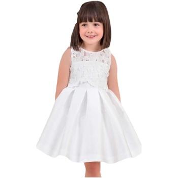 Abbigliamento Bambina Abiti corti Abel & Lula By Mayoral ATRMPN-18374 Bianco