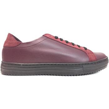 Scarpe Uomo Sneakers basse Frankie Model ATRMPN-18377 Rosso