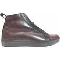 Scarpe Uomo Sneakers alte Frankie Model ATRMPN-18378 Viola