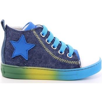 Scarpe Unisex bambino Sneakers alte Naturino 253 - 2014615 Jeans