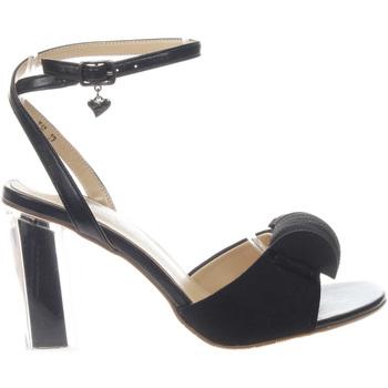 Scarpe Donna Sandali Braccialini Tua T16 BLACK-UNICA - Sandalo con  Nero