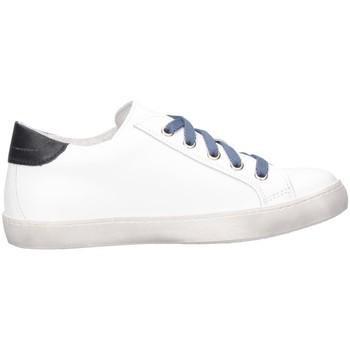 Scarpe Unisex bambino Sneakers basse Dianetti Made In Italy I9841B Sneakers Bambino Bianco/blu Bianco/blu