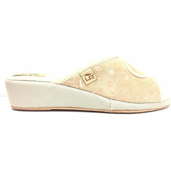 Scarpe Donna Pantofole La Riposella ATRMPN-18402 Beige