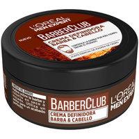 Bellezza Uomo Trattamenti post-rasatura L'oréal Men Expert Barber Club Crema Definidora  75 ml