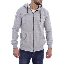 Abbigliamento Uomo Felpe Goldenim Paris Felpa zip 1119 - Uomo grigio