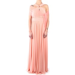 Abbigliamento Donna Abiti lunghi Impero C80682 Abito Donna Rosa Rosa