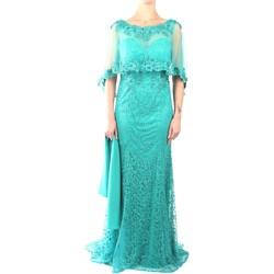 Abbigliamento Donna Abiti lunghi Impero DS2612 Abito Donna Smeraldo Smeraldo