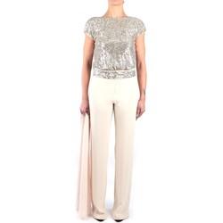 Abbigliamento Donna Tuta jumpsuit / Salopette Impero VA2047T Tute Donna Cipria Cipria