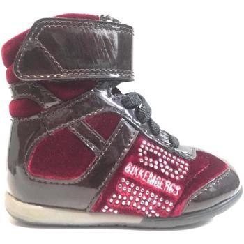 Scarpe Bambina Sneakers alte Bikkembergs ATRMPN-18421 Rosso
