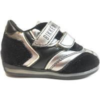 Scarpe Unisex bambino Sneakers basse Bikkembergs ATRMPN-18422 Nero