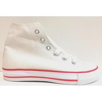 Scarpe Unisex bambino Sneakers alte Blucode ATRMPN-18427 Bianco