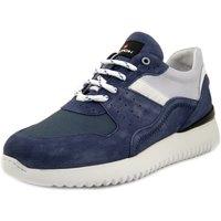 Scarpe Uomo Sneakers basse Exton Sneaker blu jeans