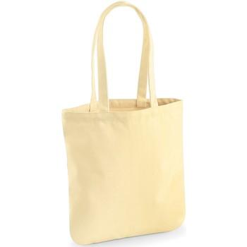 Borse Tote bag / Borsa shopping Westford Mill W821 Giallo pastello