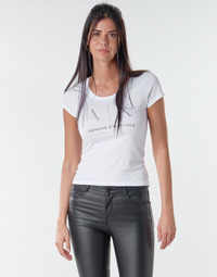 Abbigliamento Donna T-shirt maniche corte Armani Exchange 8NYT83 Bianco