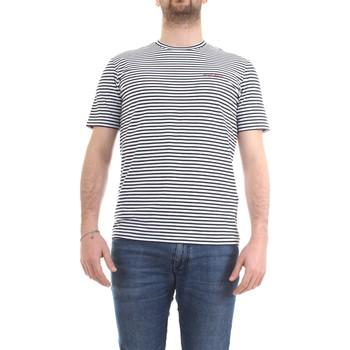 Abbigliamento Uomo T-shirt maniche corte Woolrich CFWOTE0032MRUT2139 blu