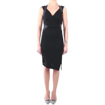 Abbigliamento Donna Abiti corti Hanita H.V2469.2665 Abito Donna Nero Nero