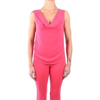 Abbigliamento Donna Top / Blusa Hanita H.M2060.2679 Senza Maniche Donna Pompelmo rosa Pompelmo rosa