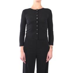 Abbigliamento Donna Gilet / Cardigan Jucca J3112016 Cardigan Donna Nero Nero