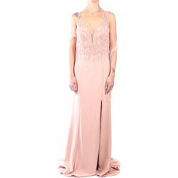 Abbigliamento Donna Abiti lunghi Impero C81472 Abito Donna Rosa Rosa
