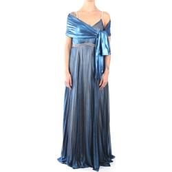 Abbigliamento Donna Abiti lunghi Impero LT3422 Abito Donna Blue Blue
