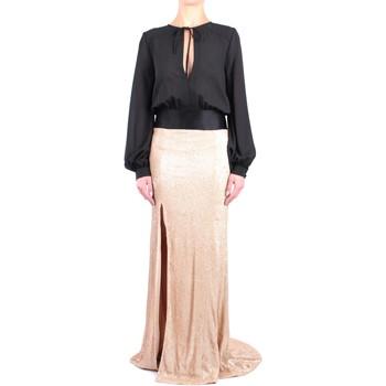 Abbigliamento Donna Abiti lunghi Pronovias TS STYLE 01 Abito Donna Gold Gold